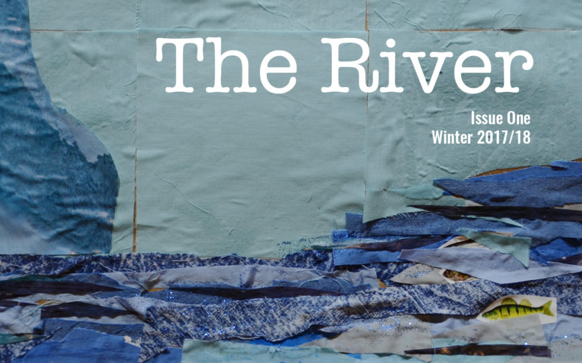 Cover of issue one of The River Magazine
