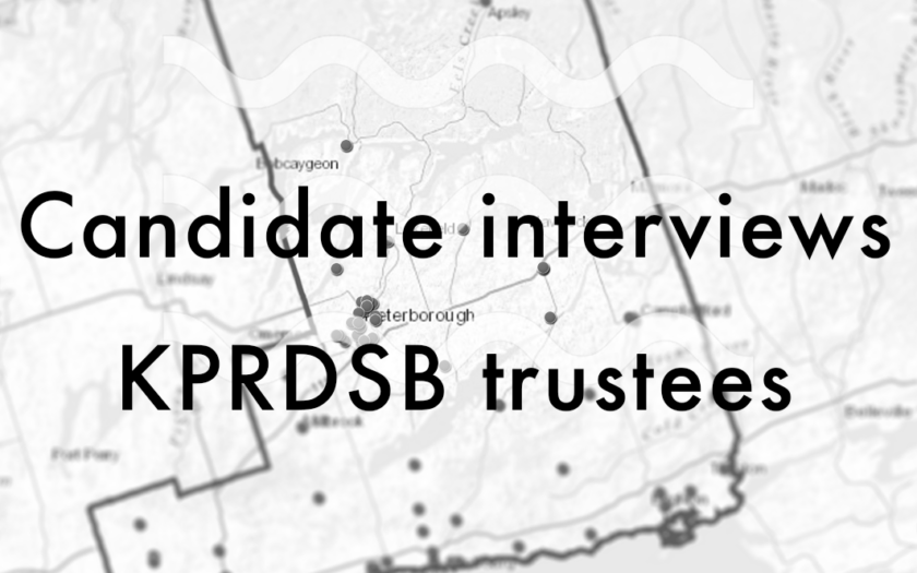 Candidate interviews for KPRDSB trustees